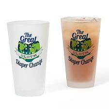 Great Diaper Change Final Logo_SM_n Drinking Glass