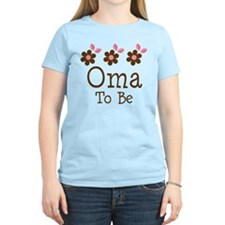 Oma To Be daisy T-Shirt