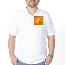 CoinPurse  Flaming Dragon T-Shirt