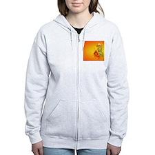 CoinPurse  Flaming Dragon Zip Hoodie