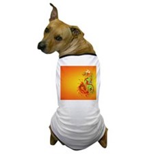 CoinPurse  Flaming Dragon Dog T-Shirt
