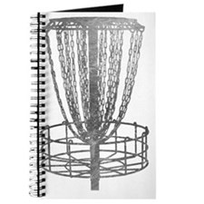 Metal Basket - Disc Golf NO TEXT Journal