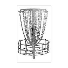 Metal Basket - Disc Golf NO TE Decal