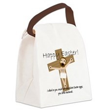 Happy Easter Jesus! Canvas Lunch Bag