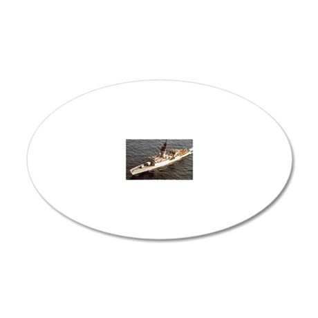 jhewes ff rectangle magnet 20x12 Oval Wall Decal
