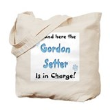 Gordon Setter Charge Tote Bag