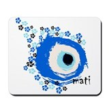 MATI-GREEK EYE Mousepad