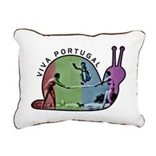 VIVAPORTUGAL Rectangular Canvas Pillow