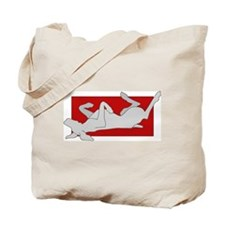 Weim on Back 2 Sided Tote Bag