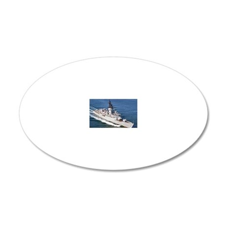 mccandless ff large framed p 20x12 Oval Wall Decal