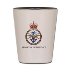ministry of defence Shot Glass