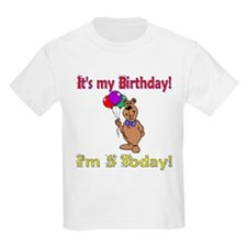 I'm 5 Today Birthday Kids T-Shirt