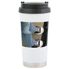 Robins feet Ceramic Travel Mug