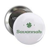 """Shamrock - Savannah"" Button"