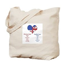 British American Translations Tote Bag