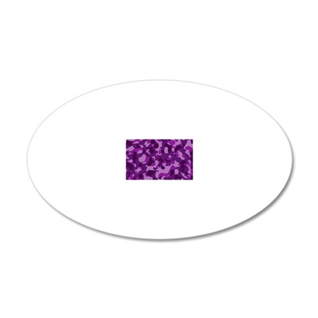 purplepinkcaMO 20x12 Oval Wall Decal