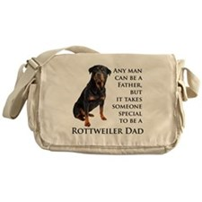 Rottie Dad Messenger Bag