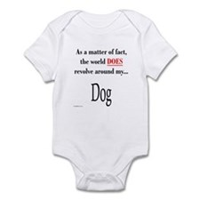 Dog World Infant Bodysuit