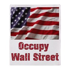 occupy Throw Blanket