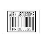 Alien Abduction Priceless Barcode Mini Poster Prin