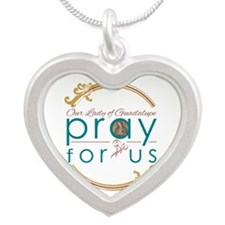 Our Lady of Guadalupe: Pray for Us Necklaces
