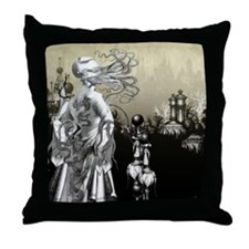 The Cthulhu Crush II by Bethalynne Ba Throw Pillow