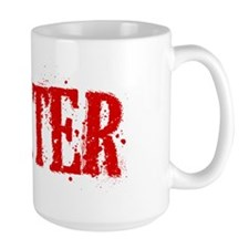 Dexter Blood Hat Ceramic Mugs