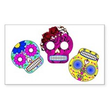 RolyPoly Skulls Decal