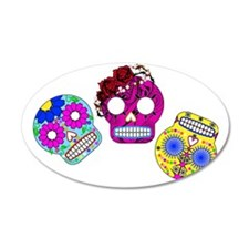 RolyPoly Skulls Wall Decal