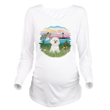Lighthouse - Bchon 4 Long Sleeve Maternity T-Shirt