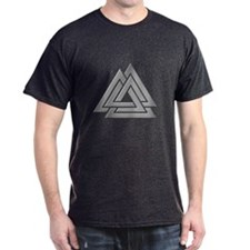 Diamond Plate Valknut T-Shirt
