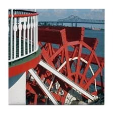 Paddle Wheel Tile Coaster