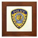 Jicarilla Tribal Police Framed Tile