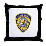 Jicarilla Tribal Police Throw Pillow