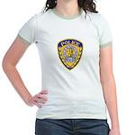 Jicarilla Tribal Police Jr. Ringer T-Shirt