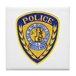 Jicarilla Tribal Police Tile Coaster