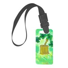 clover Luggage Tag