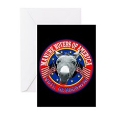 BARNZILLA'S MANURE MOVERS OF Greeting Cards (Pack