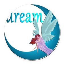 dreamfairymoon Round Car Magnet