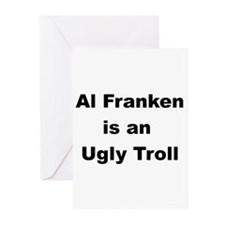 Al Franken, Ugly troll Greeting Cards (Package of