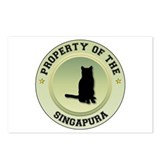 Singapura Property Postcards (Package of 8)