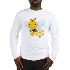 happy_honeybee Long Sleeve T-Shirt
