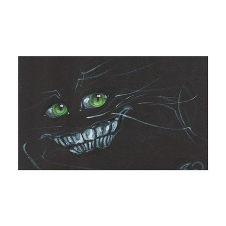Cheshire Cat 35x21 Wall Decal