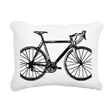 Road Bike Rectangular Canvas Pillow