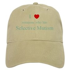 I Love Someone Selective Mutism Baseball Cap