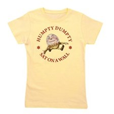 ALICE_HUMPTY DUMPTY_RED copy Girl's Tee