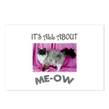 All About ME-OW Ragdoll Cat Postcards (Package of