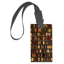 dreamdiary_bookshelf Large Luggage Tag