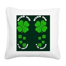 flipflops_kissmeimirish Square Canvas Pillow