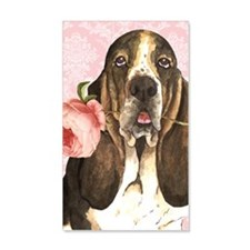 basset-3case Wall Decal